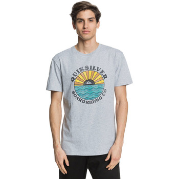 Quiksilver The Modern Rage Short Sleeve Tee - Micro Chip Heather
