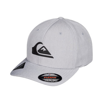 Quiksilver Amped Up Flexfit Hat - Sleet Heather
