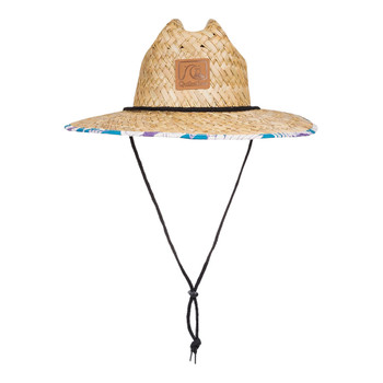 Quiksilver Outsider Straw Hat - Pagoda Blue Heather