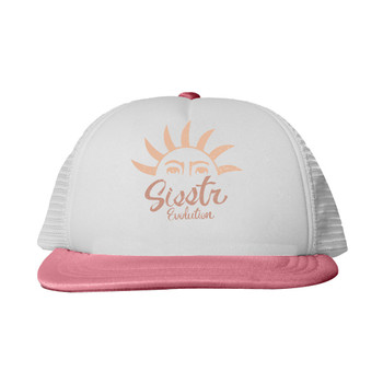 SisstrEvolution Summer Rays Hat - Coral