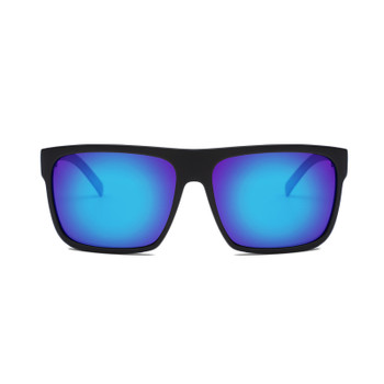 Otis After Dark Reflect Sunglasses - Matte Black / Mirror Blue / Polar