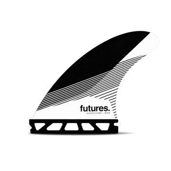 Futures Fins DHD Large Thruster Fin - Black / White