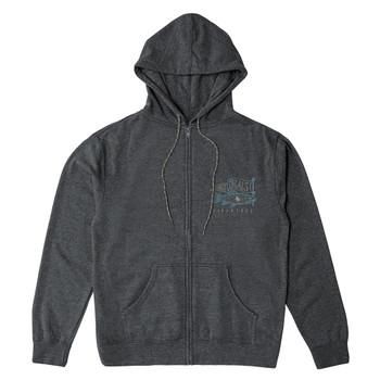 Hippytree Locals Hoody - Heather Charcoal