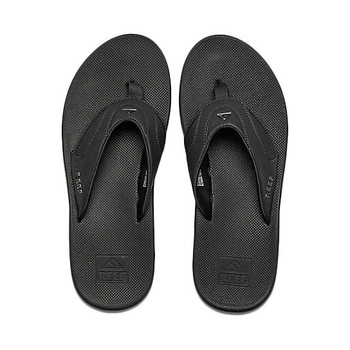 Reef Fanning Sandal - All Black