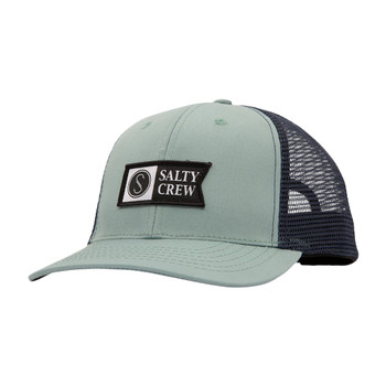 Salty Crew Pinnacle Retro Trucker Hat - Mist / Navy