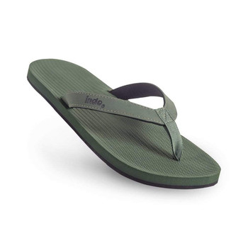 Indosole Men's ESSNTLS Flip Flops - Leaf