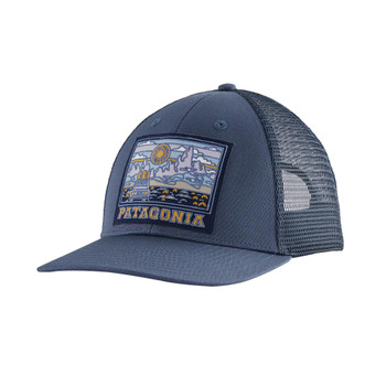 Patagonia Summit Road LoPro Trucker Hat - Dolomite Blue