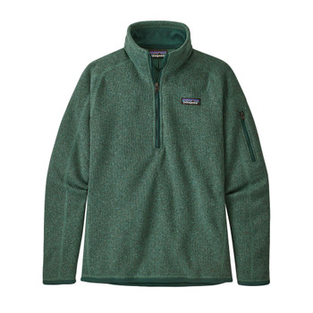 Patagonia Women's Better Sweater 1/4 Zip Fleece - Regen Green