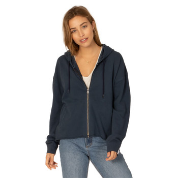 SisstrEvolution Zippin Along Knit Hoodie - Midnight