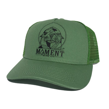 Moment Sea Lion Kids Hat - Candy Apple Green