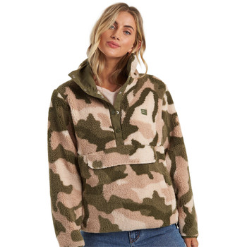 Billabong Switchback Pullover Jacket - Army Camo