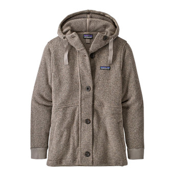 Patagonia Women's Better Sweater Fleece Coat - Furry Taupe