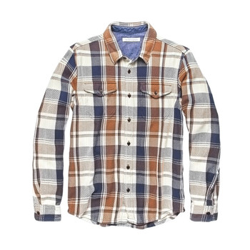 Outerknown Blanket Shirt - Juneau Plaid