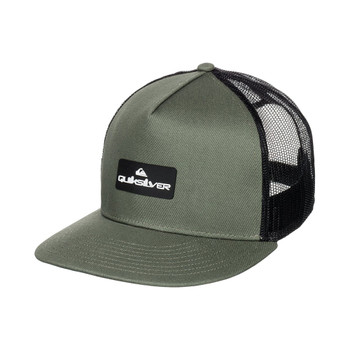 Quiksilver Lockerbees Trucker Hat - Four Leaf Clover