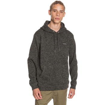 Quiksilver Keller Polar Fleece Hoody - Dark Grey Heather