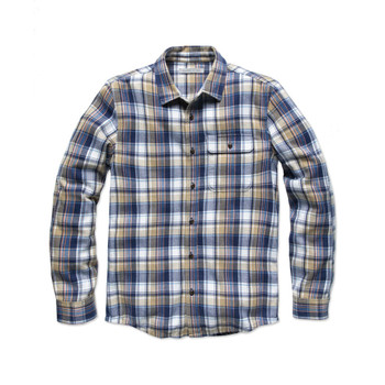 Outerknown Rambler Shirt - Khaki Emerson Plaid