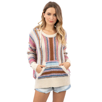 Rip Curl Super Bloom Poncho - Bone
