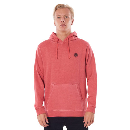 Rip Curl Original Surfers Hood - Washed Red