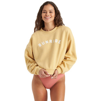 Billabong Be Mindful Sweatshirt - Pale Yellow