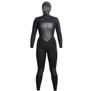 Xcel Women's Infiniti 5/4 Hooded Wetsuit - Black