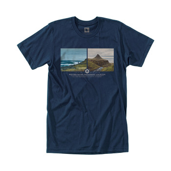 Hippytree Arctic Tee - Heather Navy