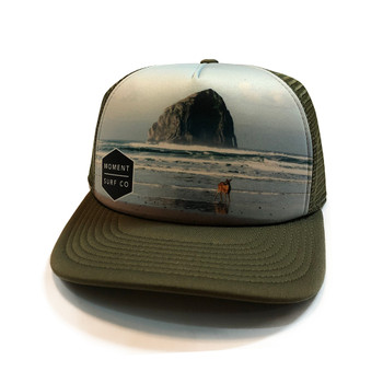 Moment Rock N' Deer Hat - Olive