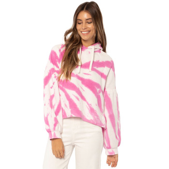 SisstrEvolution Pipeline L/S Knit Hooded Fleece - Pitaya