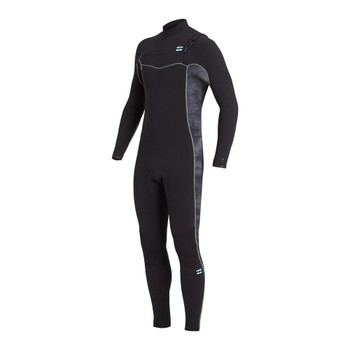 Billabong Revolution Pro 3/2 Chest Zip Wetsuit - Black Tie Dye