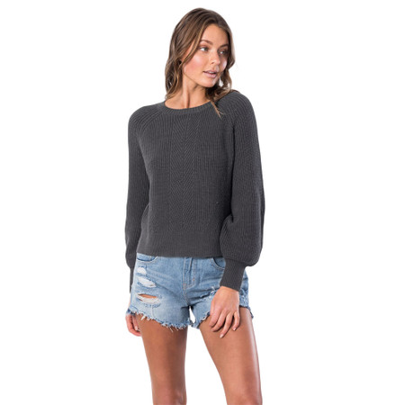 Rip Curl Coco Crew - Charcoal Heather