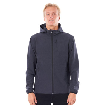 Rip Curl Elite Anti-Series Zip Through Jacket - Black