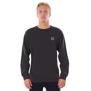 Rip Curl Original Surfers Crew - Washed Black