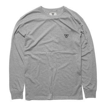 Vissla Mini Established L/S Tee - Athletic Heather