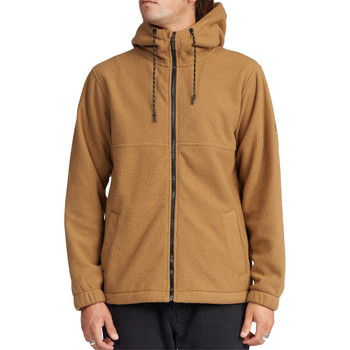 Billabong Boundary Zip Sherpa Hoodie - Clay