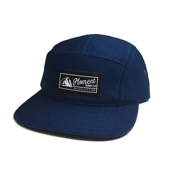 Moment PC Rock 5-Panel Wool Hat - Blue