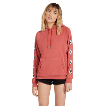 Volcom Deadly Stones Hoodie - Dust Red