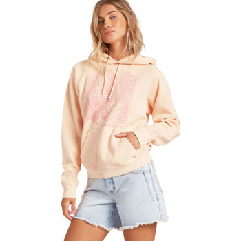 Billabong Catchin' Waves Pullover Sweatshirt - Tropical Peach