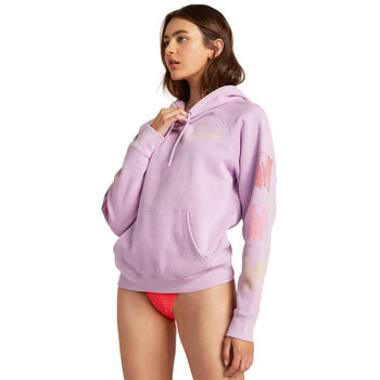 Billabong Catchin' Waves Pullover Sweatshirt - Lit Up Lilac