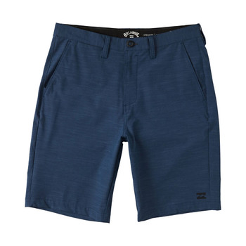 Billabong Crossfire Slub Submersible Walkshort - Denim Blue