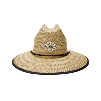 Billabong Tipton Straw Hat - Black / Mint