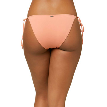 O'Neill Maracas Saltwater Solids Side Tie Bikini Bottom - Canyon Clay