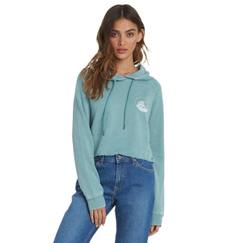 Roxy We Arrived A Hoodie - Oil Blue