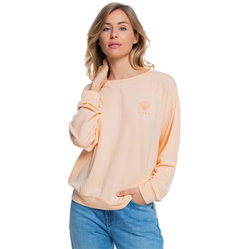 Roxy Surfing By Moonlight B Super Soft Sweatshirt - Apricot Ice