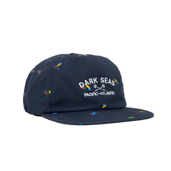 Dark Seas Whalley Hat - Navy
