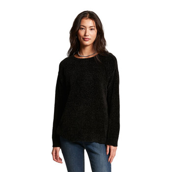 Volcom Lived In Lounge Crew Neck Sweater - Black