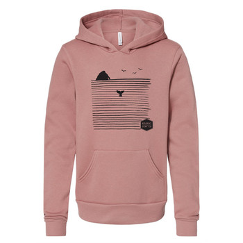 Moment Youth Rock N' Whale Hoody - Mauve
