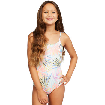 Billabong Girls Tropic Party One Piece Swimsuit - Multi