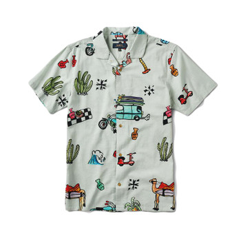 Roark Always Right Button Up Shirt - Off White