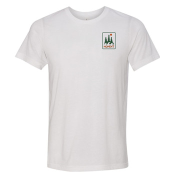 Moment Trees And Waves Tee - White