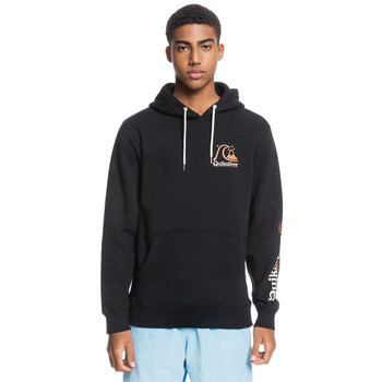 Quiksilver First Up Recycled Hoodie - Black