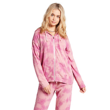 Volcom Lived In Lounge Zip Fleece - Faded Mauve